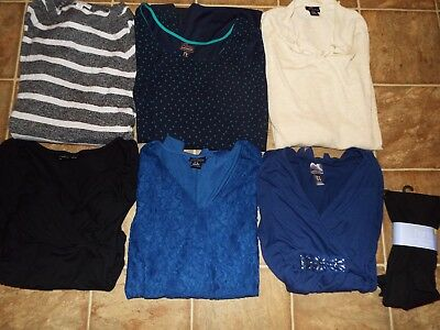 7 piece lot Medium Large Liz Lange Oh! Baby By Motherhood Maternity