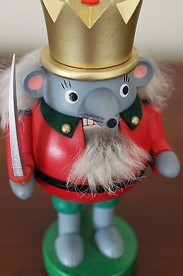 Mouse King Nutcracker, Made in Germany by Richard Glässer, Pristine Condition