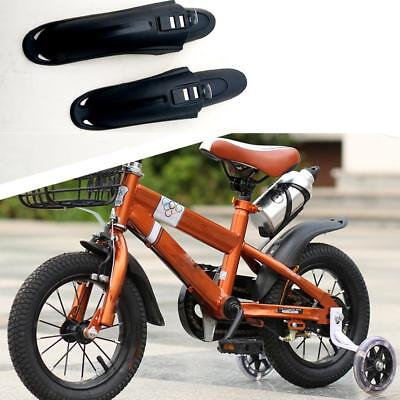 12/14/16 inch Kids Bike bicycle Fenders Front&Rear Mudguard Set Tire Cleaner