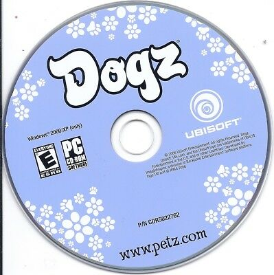 Dogz - Your Computer Virtual Petz PC Game CD