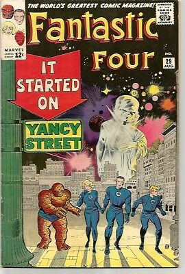 FANTASTIC FOUR # 29   Beautiful Silver Age - FN6.5 to FN/VF7.0