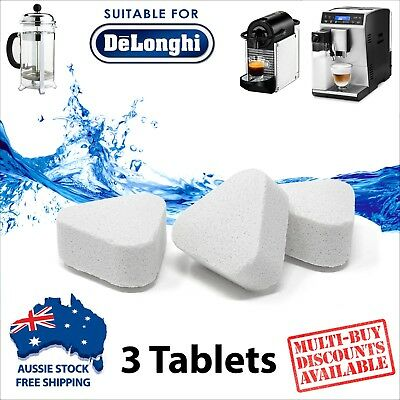 3 x Descaling Tablets for Coffee Espresso Machines Anti-Scale Descaler Decalcify