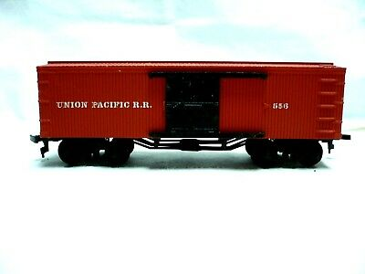 Ho Scale Bachmann Old Time Western Union Pacific  R. R.  #556 Box Car