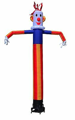 Inflatable Sky Air Dancer Clown Air Dancer Attachment (Blower Not Included)