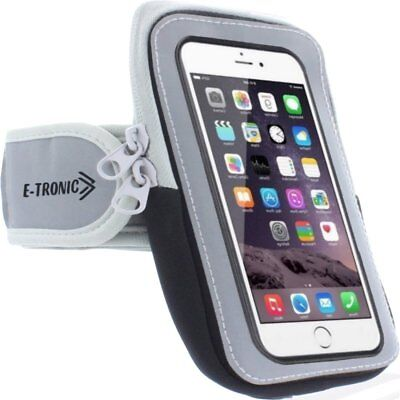 Armband Smartphone Holder Case  Strap w/ Zipper Pouch iPhone Samsung LG 5 inch