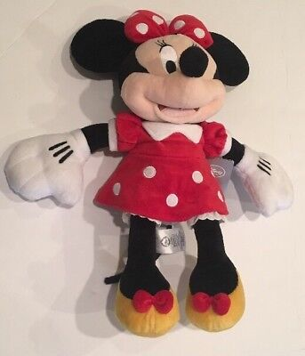 Disney Store Authentic Minnie Mouse Plush Toy Large 18 Stuffed Doll