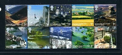 GREAT BRITAIN   MNH   2352a   English Scenery  Blk 10      HK716