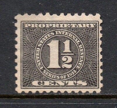 Scott # RB51, used, F, 1½¢ Proprietary, 1914, No Cancel (No Gum)
