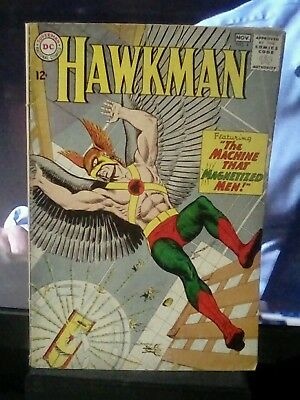 "DC COMICS ""hawkman"" #4 nov., 1964"