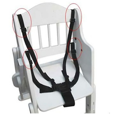 5 Point Baby Safe Belt For Stroller High Chair Pram Buggy Strap-Infant Harness