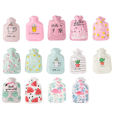 Cartoon cute small hot water bottle water filled with water !!