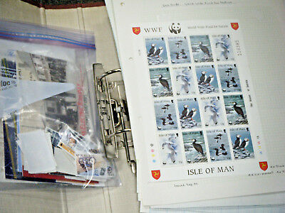 Bulk Lot Mint Unused Isle Of Man UK Stamps - Over 270 Pounds Face Value