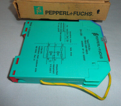 PepperL + Fuchs Z175/EX Barrier Safety Relay Module 822097 NEW
