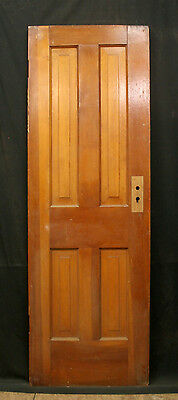 "24""x72"" Antique Vintage SOLID Wood Wooden Interior Cabinet Pantry Closet Door"