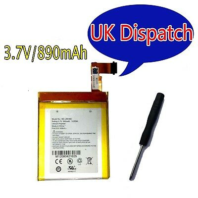 MC-265360 Battery for Kindle 4th generation D01100 890mAh / 3.29Wh M11090355152