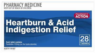 Heartburn Indigestion Relief 28 Tablets Ranitidine 150mg | Generic Zantac