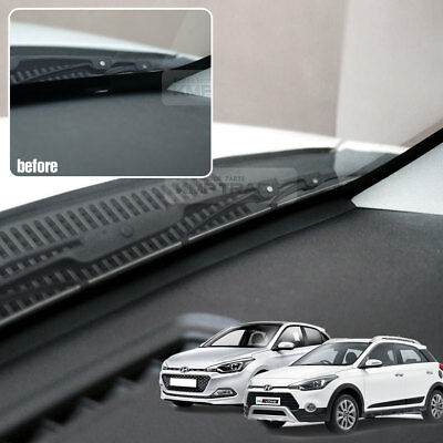 Auto Noise Protection Dashboard Rubber Strip for HYUNDAI 2008-2018 i20 3D Active