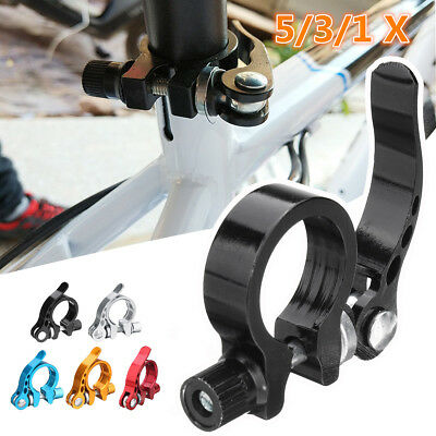 Bike Bicycle Quick Release Seat Post Clamp Alloy 28.6mm Suits 25.4mm Seatpost