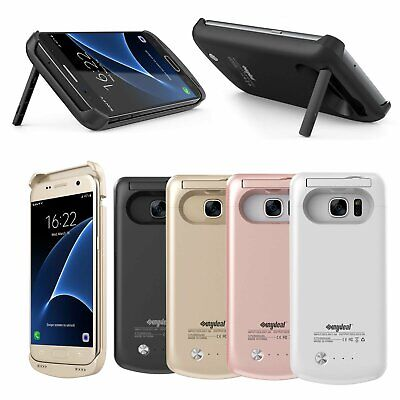 Ultra Slim Extended Battery Charging Case Cover For Samsung Galaxy S7 Edge S9 +