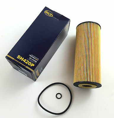 2 x sct GERMANY Filtre à huile incl joint divers Audi vw skoda seat oilfilter