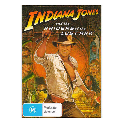Indiana Jones and the Raiders of the Lost Ark  DVD  Brand New Harrison Ford