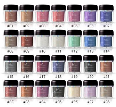 PUDAIER Glitter Shining Eyeshadow Loose Pigment For Eyes Makeup hIGHLIGHTER DUST