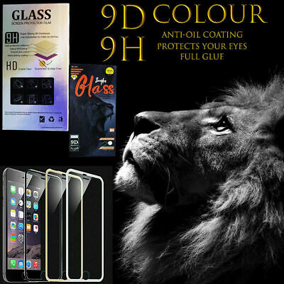 IPhone Screen Protector Tempered Glass Apple 6, 6s 3D Curved Metal Edge Genuine