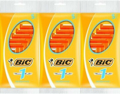 Bic  Blade Disposable Razors - 5's x3 Triple Pack