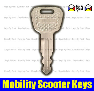 Spare Or Replacement Key For Drive Zoom, Careco Zoom Mobility Scooter J101