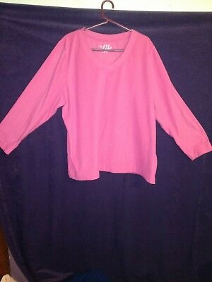 (LOT OF 6) Made for Life Plus Size 2X  Long Sleeve V-Neck Fleece Top