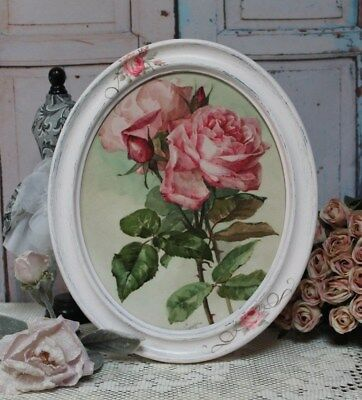 """~ """"Shabby Roses"""" ~ Vintage~Shabby Chic~Country Cottage style~Wall Decor Sign ~"""