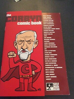 The Corbyn Comic Book published 2017