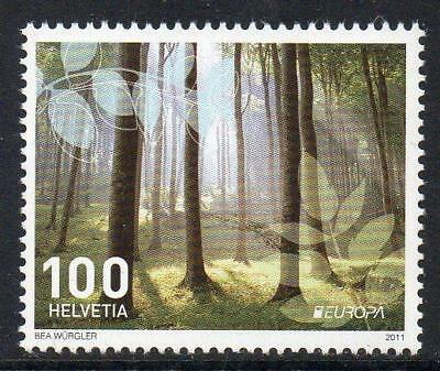 SWITZERLAND MNH 2011 SG1889 Europa-Forests