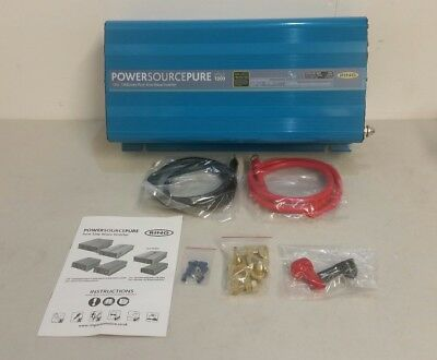Ring RINVPR1000 RING Power Source Pure 1000 WATT 12V PURE SINE INVERTER (M)