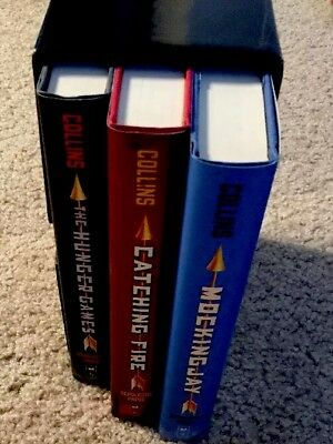 The Hunger Games Trilogy Set: Hardcover. Never Opened (Books)