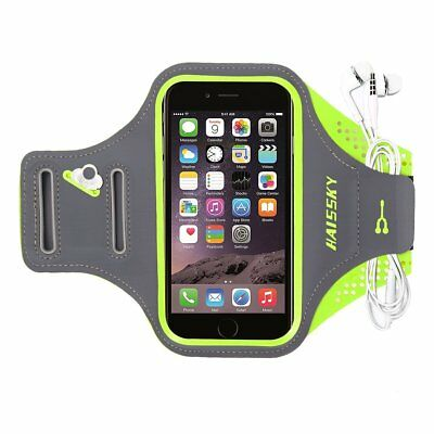 "HAISSKY iPhone Android 5.5"" Protective  Armband Case Workout Key & Card Pocket"