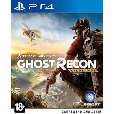 PS4 Tom Clancy's Ghost Recon Wildlands PlayStation 4 game new sealed box