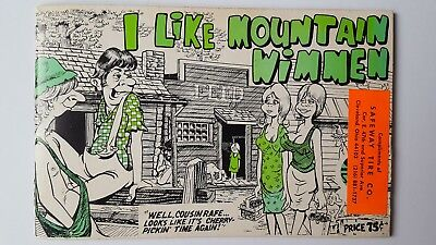 Vintage I Like Mountain Wimmen - Hillbilly Humor Book 1966