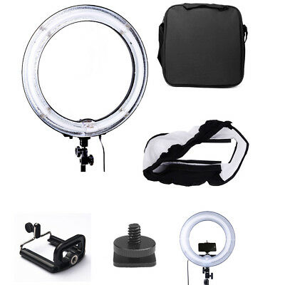 """13.5"""" 40W Ring Light 5500K Dimmable Ring Fluorescent Light Stand Camera Photo Ne"""