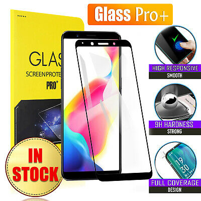Full Coverage Tempered Glass Screen Protector Oppo A73 AX5 AX5S AX7 R11S Plus