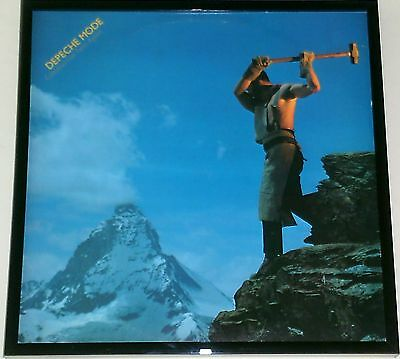 Depeche Mode - Framed Album Cover  - Construction Time Again - Framed Lp Cover