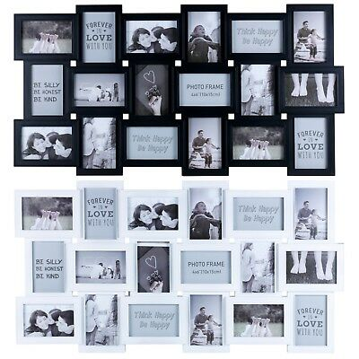 Large 18 Photos Multi-Picture Decorative Wall Frame Memories Collage Aperture