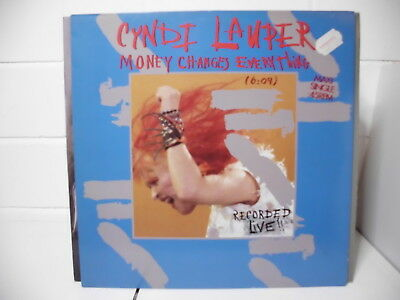 Cyndi Lauper:Money changes everything-live(That version) Maxi Single