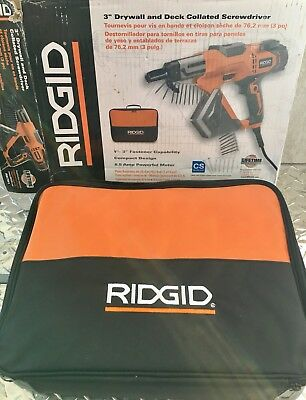 RIDGID 3 in. Drywall and Deck Collated Screwdriver R6791 (429-5)