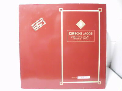 Depeche Mode:Everything counts & Live Tracks Maxi Single