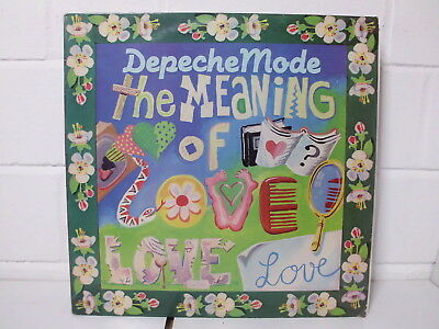 Depeche Mode:The meaning of love(Fairly odd Mix) Maxi Single