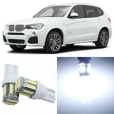 22 x Canbus Xenon White Interior LED Lights Package For 2011- 2017 BMW X3 +TOOL
