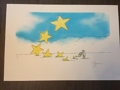Lithographie Tomi Ungerer Signee Au Crayon