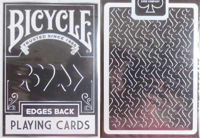 Bicycle Edges Back Playing Cards – Limited Edition - SEALED