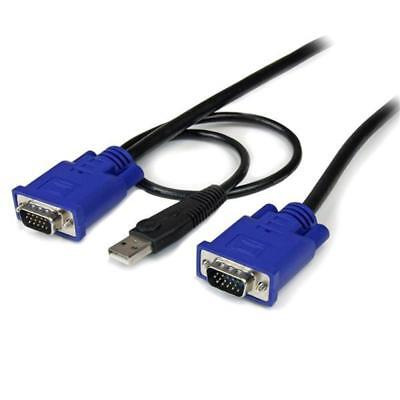 StarTech 15 ft 2-in-1 Ultra Thin USB KVM Cable